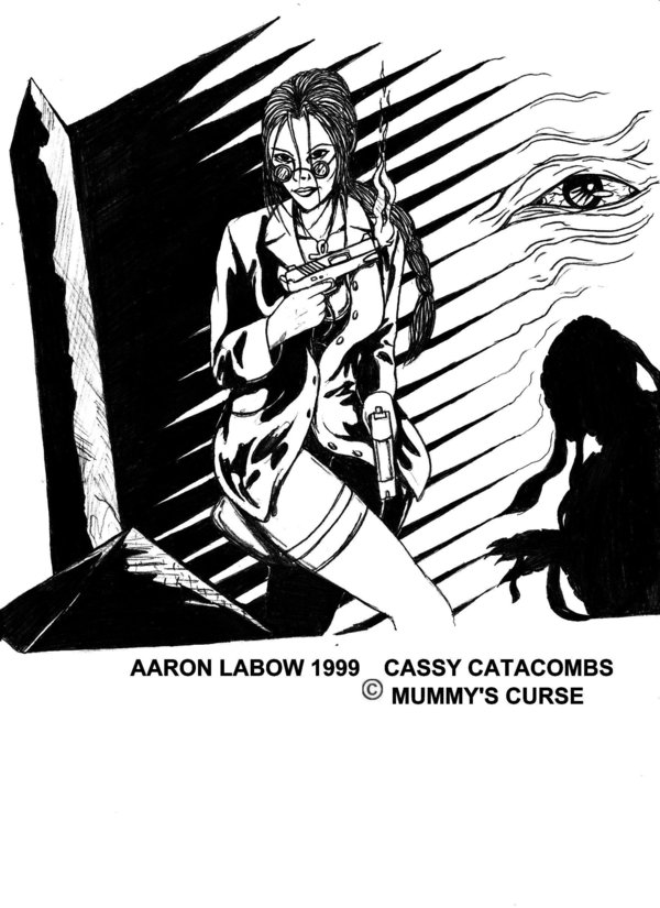 CASSY CATACOMBS MUMMY  S CURSE By therawfruityninja