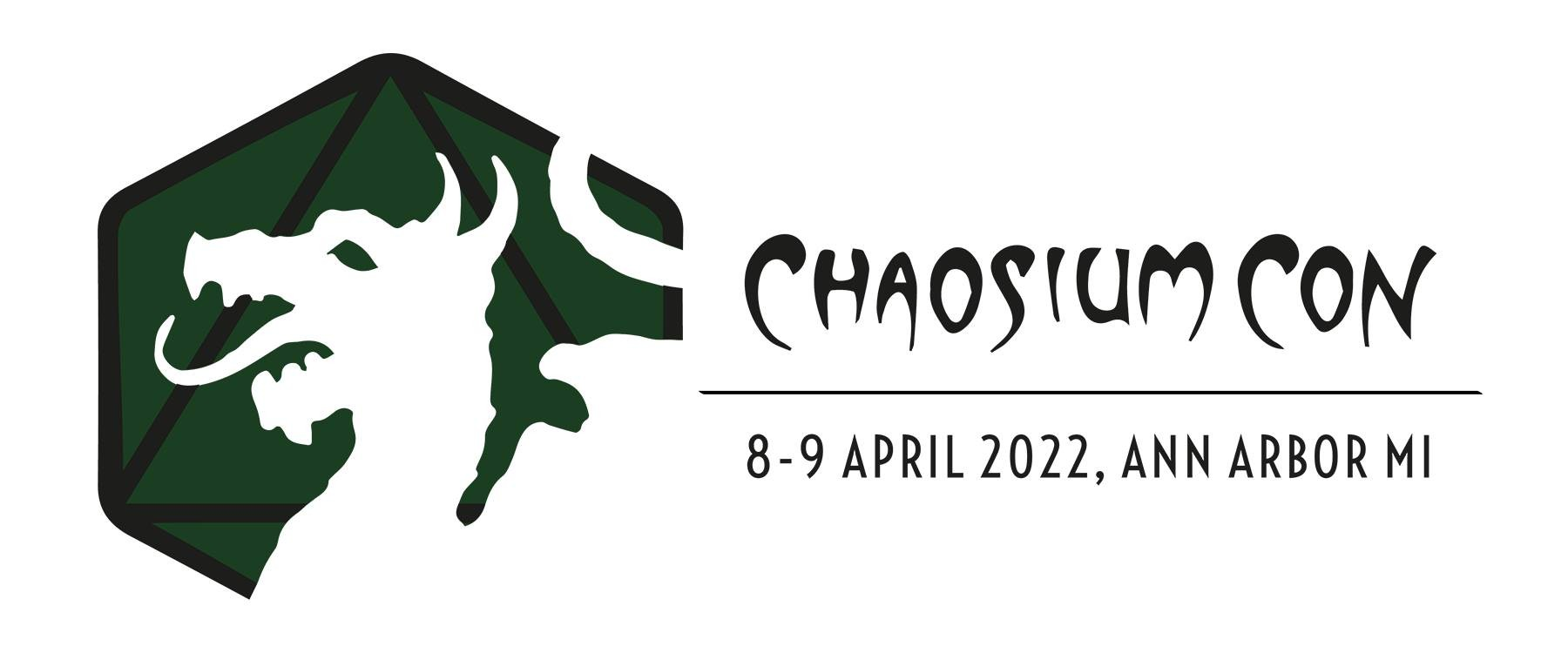 Chaosium Con Logo